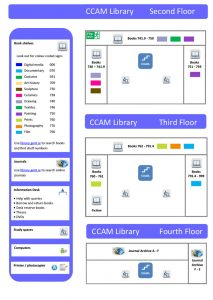 CCAM - Floor Plan - Second Floor, Third Floor